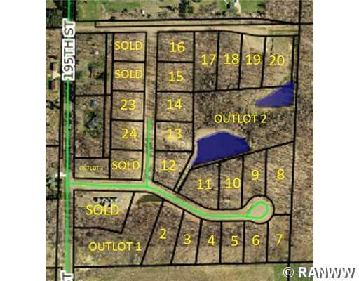 Land/Lot. - Lot 20 195th Street Chippewa Falls