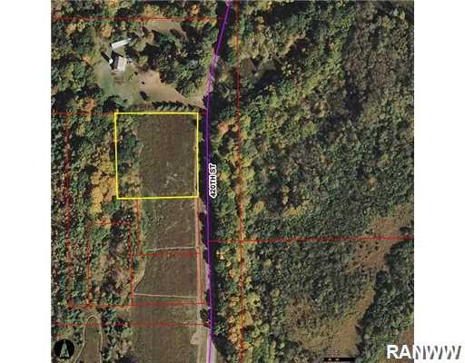 Aerial View. - Lot 1 River Road (420Th St)  Menomonie