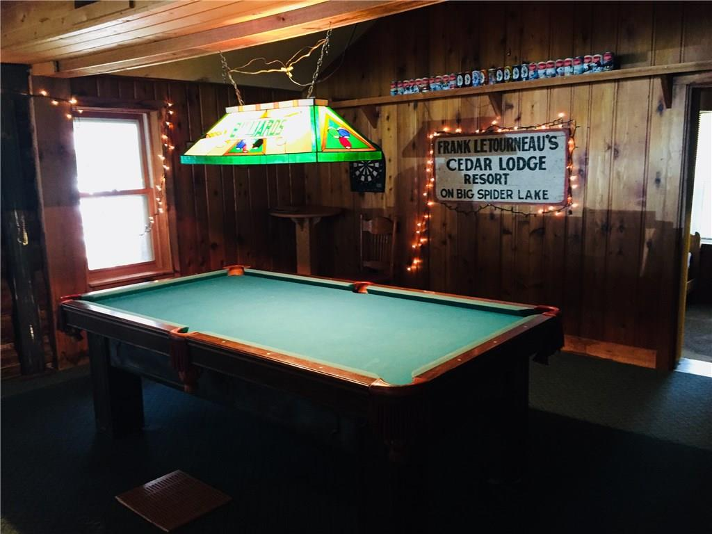 lodge pool table area - 12939 Le Tourneau Lane Hayward