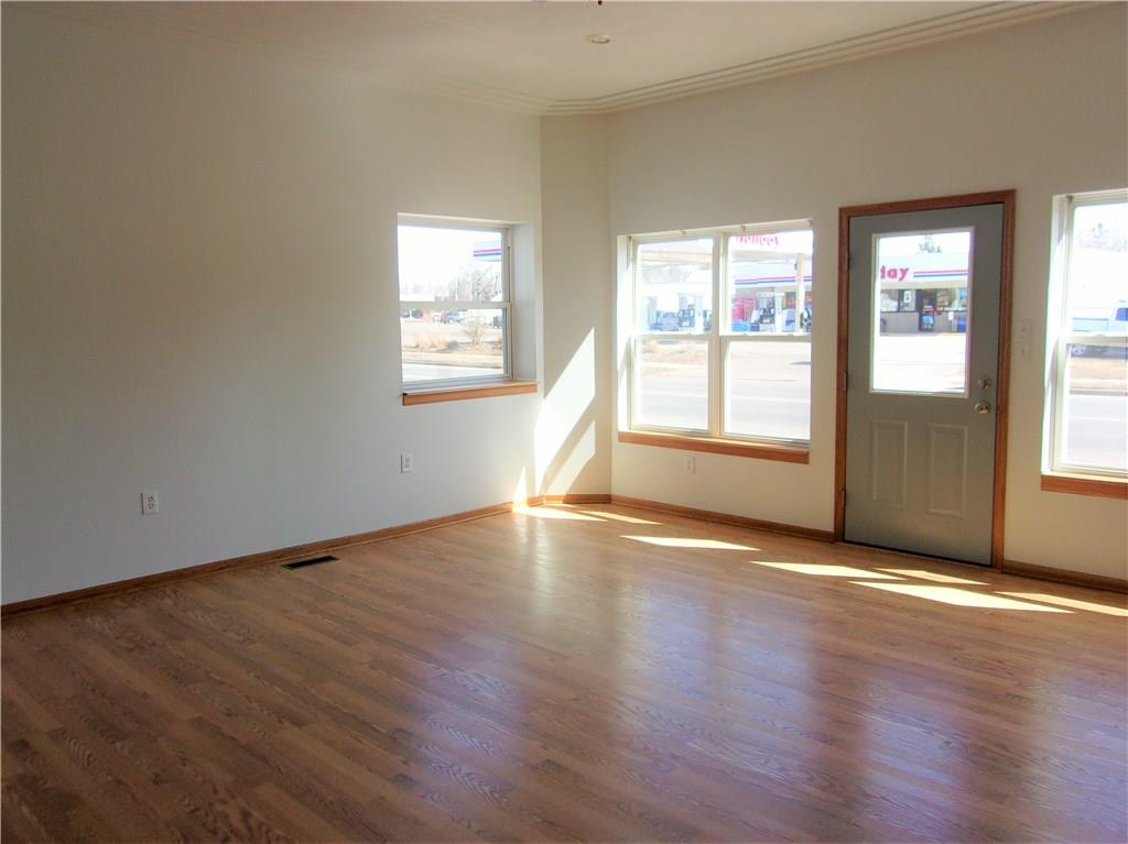 Kitchenette in Large 15 x 27 Back Conference Area Room - 122 State Hwy 35  Milltown
