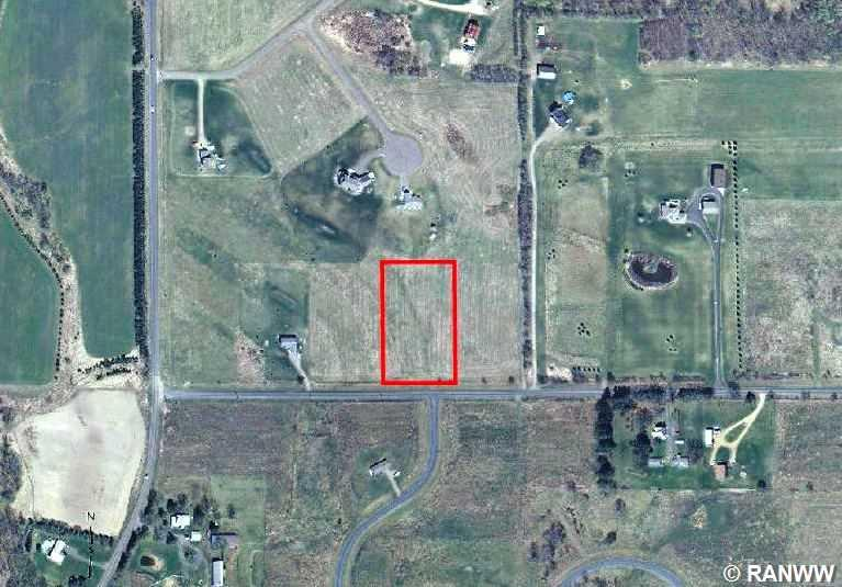 Aerial View. - Lot 17 120th Avenue St.Croix Falls