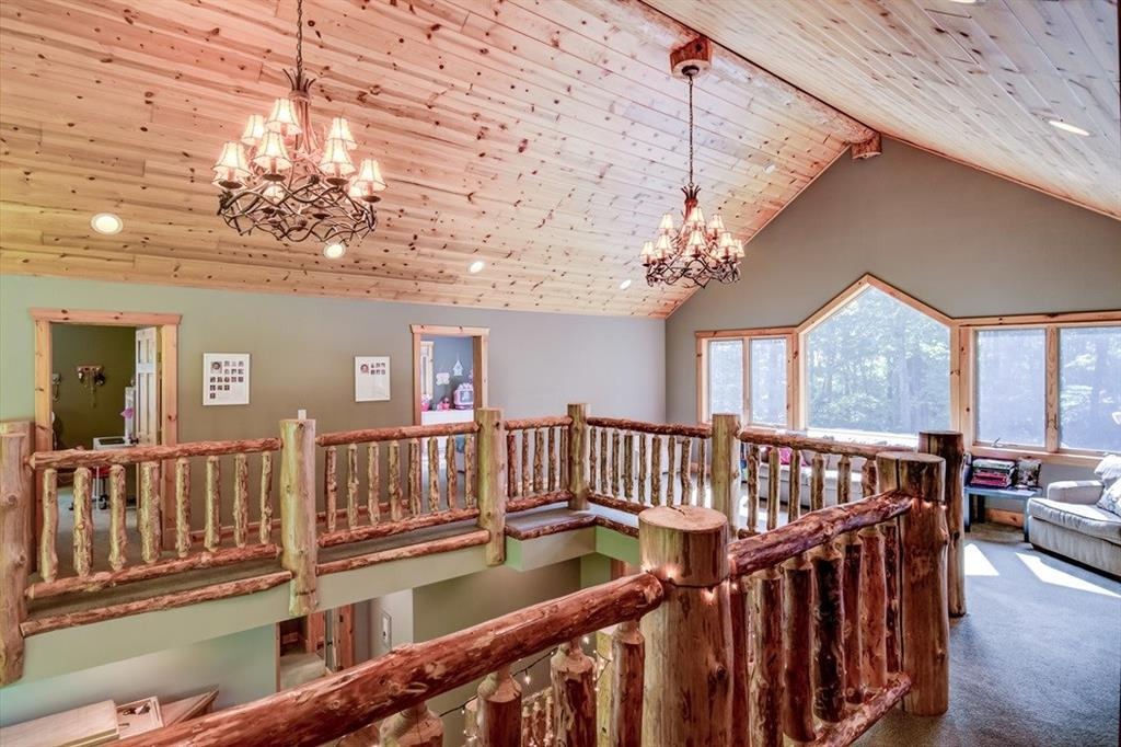 Another view of the upstairs balcony area! WOW! - 2736 27 1/2 Avenue Birchwood