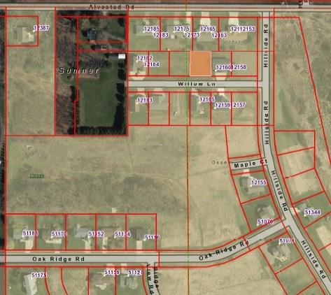 - Lot 25 Willow Road Osseo