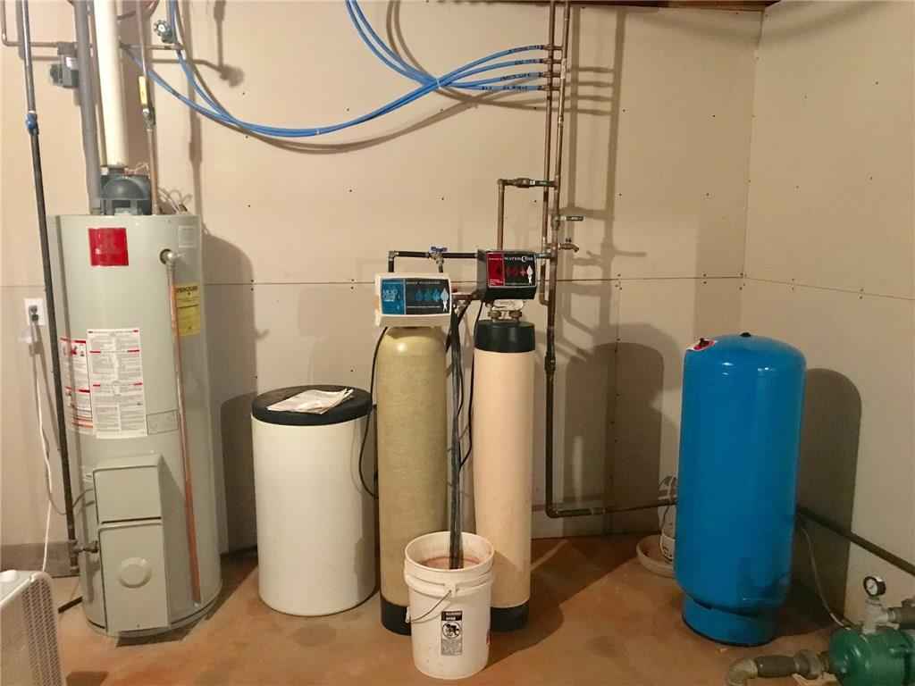 Water softener is leased thru WaterCare / LP Gas Water Heater - E6980 County Rd E  Menomonie