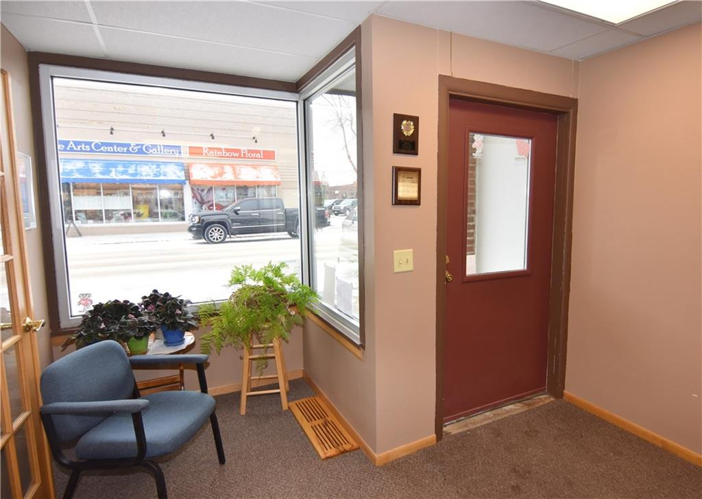 Workspace and place for greeting clients as they walk through the door. - 102 Miner Avenue Ladysmith