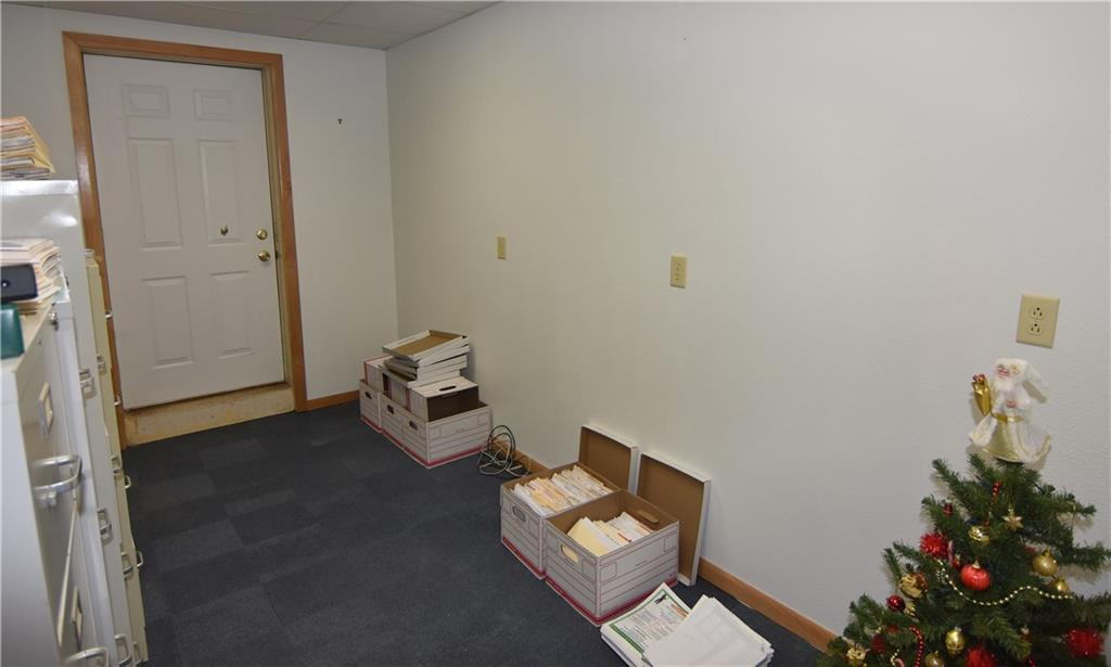 Another great office place with storage areas. - 102 Miner Avenue Ladysmith