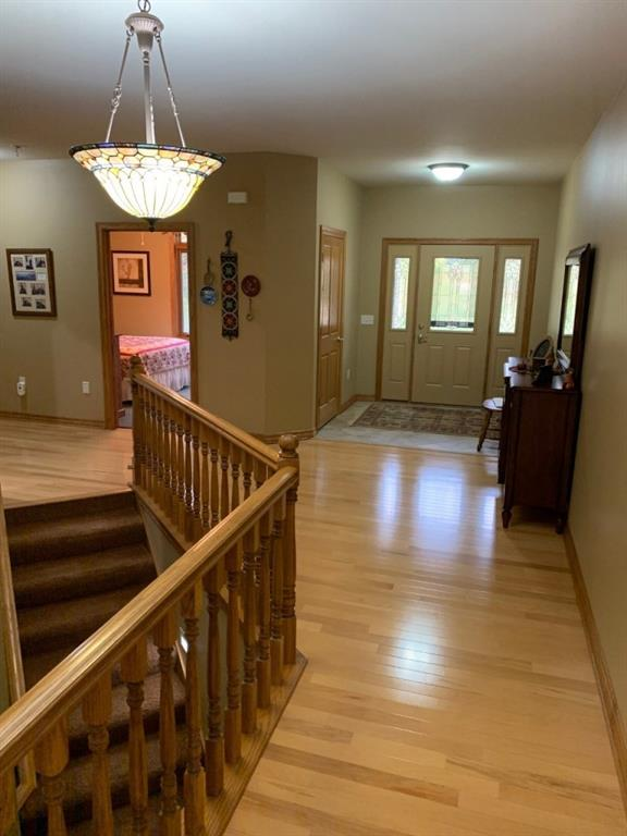 Foyer to Great Room.  Bdm 2 in background - 3635 Ridgeway Drive Eau Claire