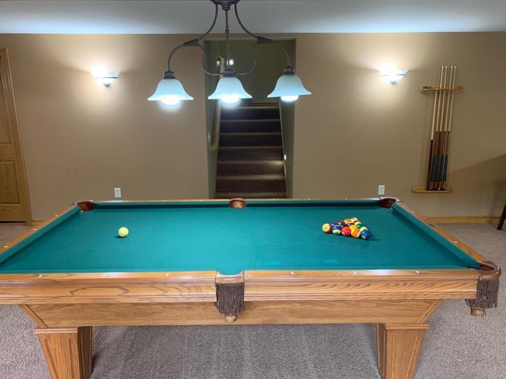 Billiard table included - 3635 Ridgeway Drive Eau Claire
