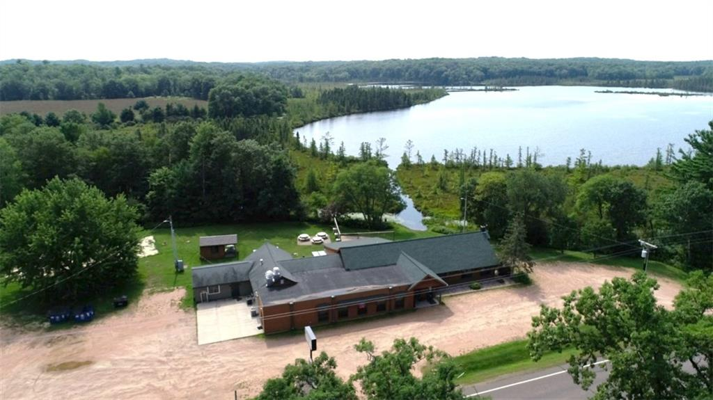This 2.9 acre property sits on Larrabee Lake in Chippewa County - 27895 Hwy 40  New Auburn