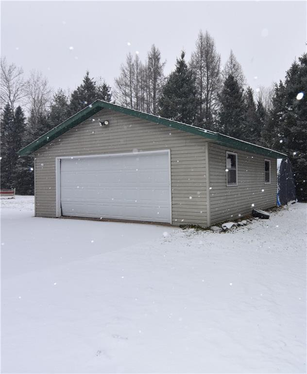 Detached two car garage - 11646 State Hwy 48  Exeland