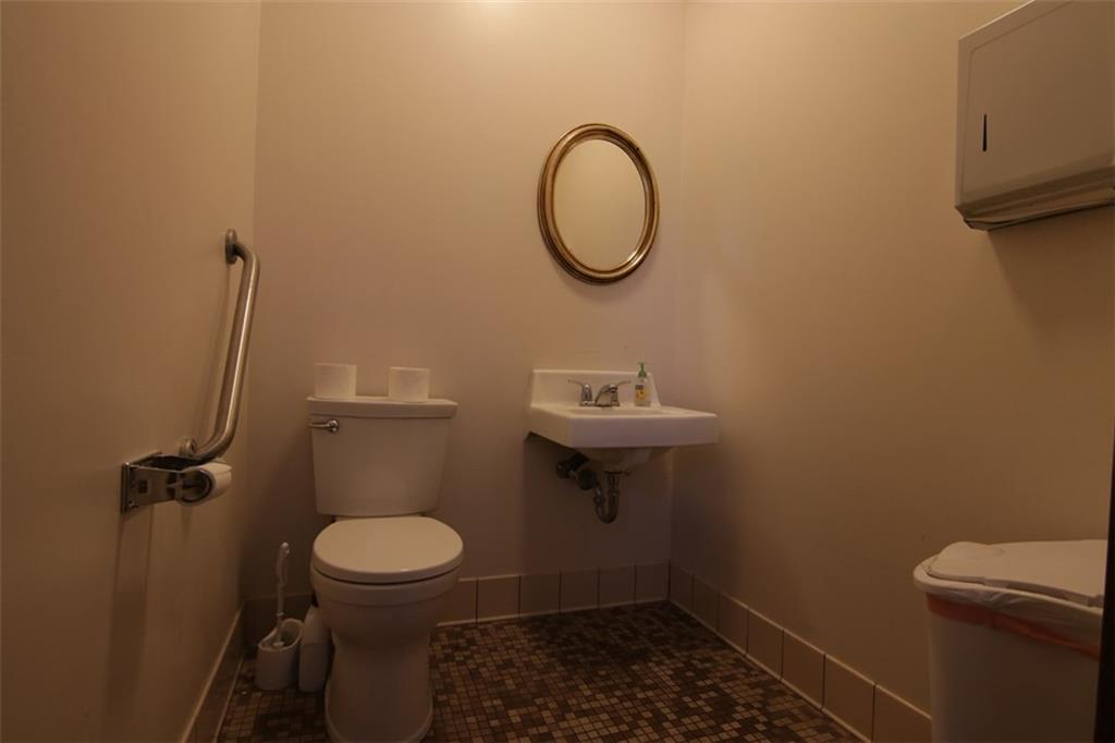 One of two mail level bathrooms - 10411 State Hwy 27  Hayward